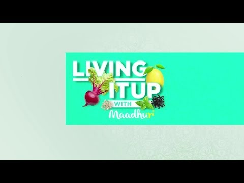 Busting Cholesterol Myths | Living it up with Maadhuri | Sanjeev Kapoor Khazana