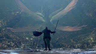 Dark Souls - Moonlight Greatsword the Easy Way and Seath Fight