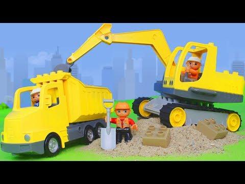 Bagger, Truck, Lastwagen, Spielzeugautos & LEGO Duplo Construction Spielwaren Kran | Excavator Toys