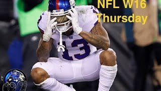 GIANTS LOSE TO EAGLES WITH PLAYOFFS ON THE LINE! | NFL W16 TNF BLITZ PODCAST
