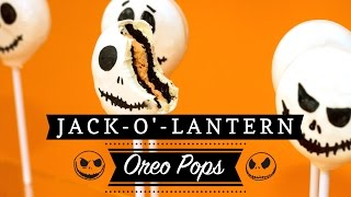 Halloween Oreo Pops: Jack-o'-Lantern