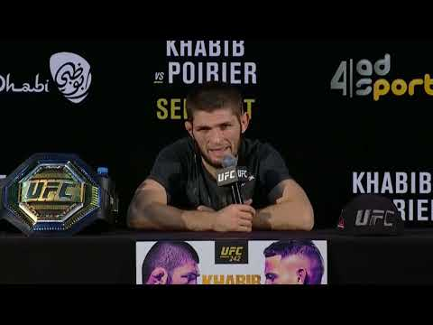 Highlights de la conférence de presse après combat de l'UFC 242