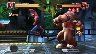 5 Star JUGGERNAUT VS 3 Star SPIDER-MAN | Marvel Contest of Champions