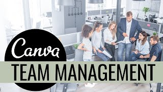How to Create a Team in Canva | Canva Tutorial