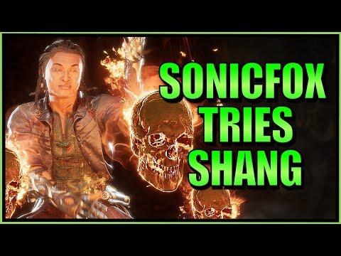 SonicFox - Tries Shang Tsung  【Mortal Kombat 11】