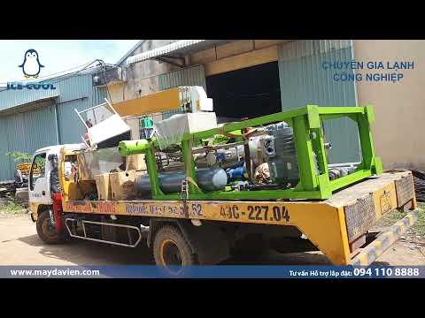 Cung cấp 2 máy sản xuất đá viên (đá bia & đá cafe) Tại Điện Bàn - Quảng Nam