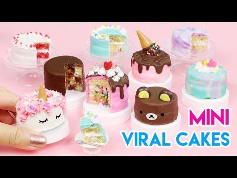 Download How To Make Mini Cakes - Popular/Viral Edition! (100% Edible) HD Mp4 3GP Video and MP3