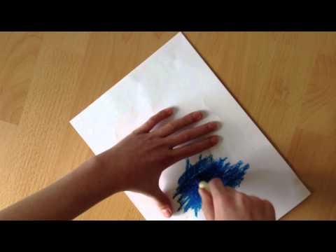 Blaupapier selber machen - Durchschriftpapier herstellen