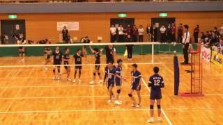 全日本大学バレーボールインカレ(石川祐希選手スパイク&サーブ)