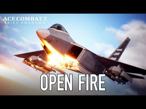 Ace Combat 7: Skies Unknown - PS4/XB1/PC - Open Fire (Launch Trailer)