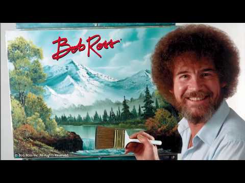 Paint Bob Ross'® Mystic Mountain using Painter 2018 & the Mystic Mountain brush pack