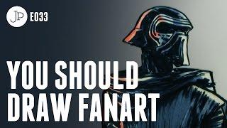 You Should Draw Fan Art E033