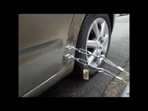 車板金 こんな凹みを修理した