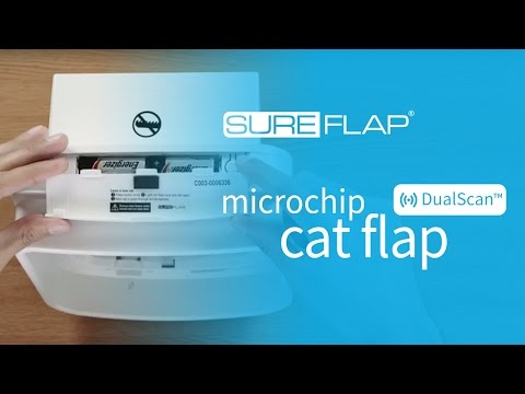 How to find the serial number on your SureFlap DualScan Microchip Cat Door