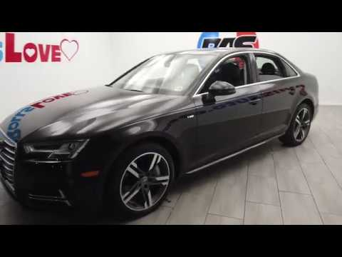 Pre-Owned 2017 Audi A4 Sedan 4D 2.0T Premium Plus AWD