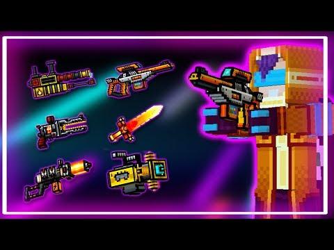 Pixel Gun 3D - Netrunner Set | Gameplay