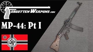 Sturmgewehr MP-44 Part I: Mechanics