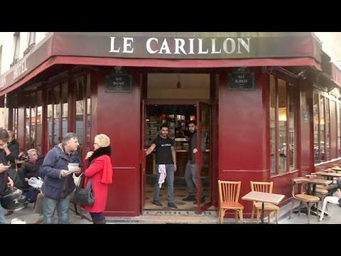 Άνοιξε το καφέ The Carillon για πρώτη φορά μετά τα τρομοκρατικά χτυπήματα