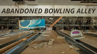 Enormous ABANDONED Bowling Alley