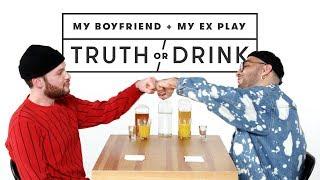 My Boyfriend & My Ex Play Truth or Drink (Israel & Franky) | Truth or Drink | Cut