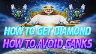 LoL Guide: How To Get Diamond: How To Avoid Getting Ganked [League Of Legends]