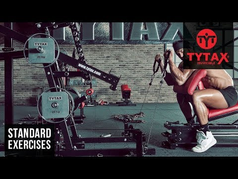 TYTAX® M1 | Cable Seated Preacher Curl (Stirrups)