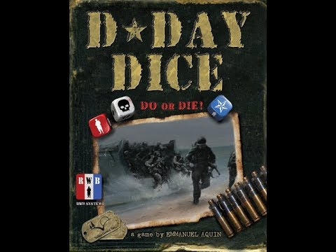 The Purge: # 1555 D-Day Dice: Solo and Cooperative run up the Beach using Yahtzee Dice