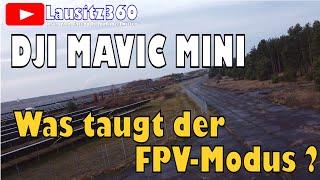 Mavic Mini FPV Mode | FPV mit der Mavic Mini geht das? | FPV Gimbal Mode