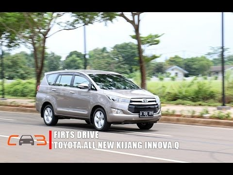 First Drive Toyota All New Kijang Innova Q 2.4 A/T