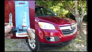 How to Replace Headlight Bulb in 2007-2010 Saturn Outlook