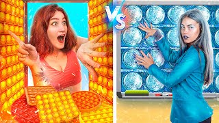 Hot vs Cold Stress Relievers! How to Sneak Pop It into College