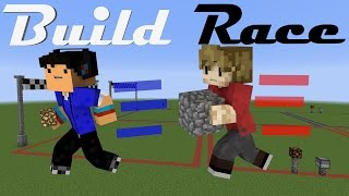 BUILD RACE! Minecraft Minigame /w Taurtis