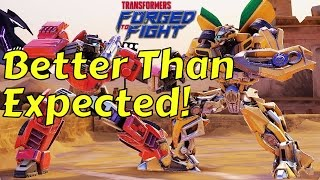 Transformers: Forged to Fight - ACTION FIGHTER RPG FIRST LOOK COMMENTARY