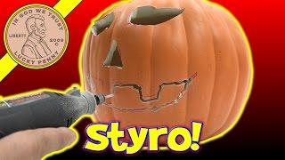 How To Carve A Funkins Carvable Pumpkin