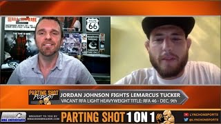 RFA 46's Jordan Johnson talks 205lb title shot, training w/ Phil Davis & UFC jump
