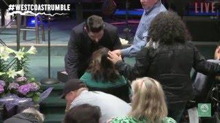 Woman walks out of wheelchair- Charlie Shamp