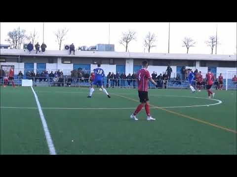 Resumen del Partido, C.D.Valdefierro 1-5 C.D.Teruel. (Incluye los goles).