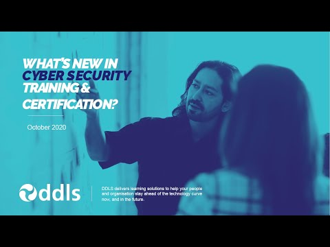 What's New in Cyber Security Training and Certification? - YouTube
