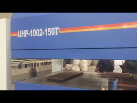 UHP 1002 Hydraulic Hot Press