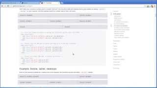 Урок 6 - Адаптивная сетка Bootstrap для верстки шаблона