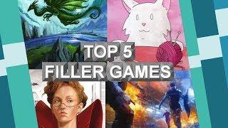 Top 5 Spiele für Zwischendurch - Filler Games - reloaded