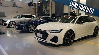 Novos modelos Audi RS - RS 6, RS 7, RS Q8 , RS Q3