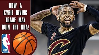 How a Kyrie Irving trade can ruin the NBA: Cavs must choose in Kobe & Shaq like situation