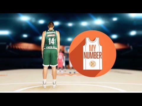 My Number: Ian Vougioukas, Zalgiris Kaunas