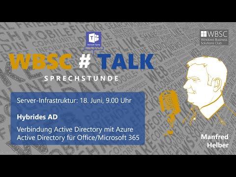 , title : 'Konfiguration von Azure Active Directory Connect