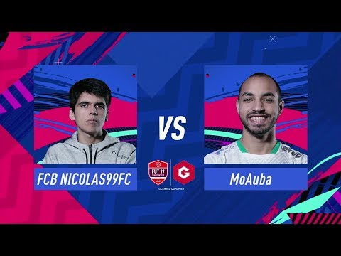 FIFA 19 Gfinity FUT Champions Cup December Playstation Final MoAuba vs Nicolas99fc