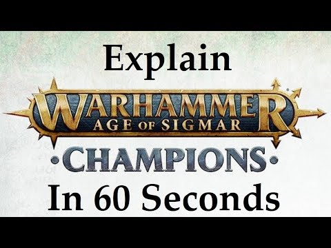 Warhammer Age of Sigmar Champions Collectible Card Game explained in 60 Seconds