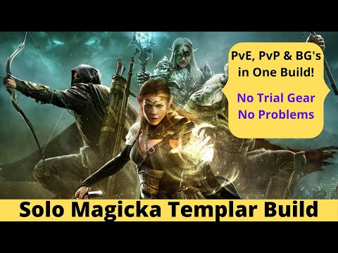 One Build to rule them all - Magicka Templar Build 4 PvP