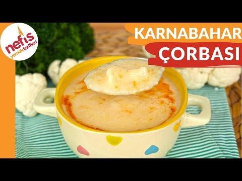 Nefis Karnabahar Çorbası Nasıl Yapılır? - Nefis Yemek Tarifleri