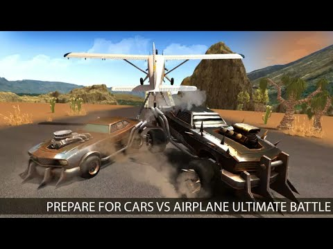 Chained Cars Crash VS Cargo Plane - Chained Cars & Plane Crashes - Android Gameplay HD